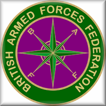 British Armed Forces Federation logo - registered trade mark